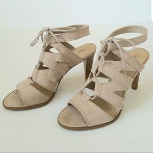 NWT Vera Wang Lace Up Sexy Sandal